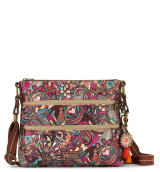 Sakroots Basic Crossbody Sling Bag Berry Spirit Desert