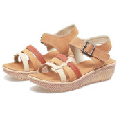 SANDAL HIGH HEELS / WEDGES KASUAL WANITA - BYI 951