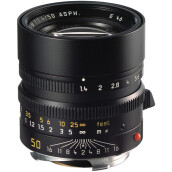 Leica Summilux-M 50mm f/1.4 ASPH. Lens (11891) Black