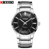 Curren 8001B watches quart watch design sport steel clock top quality military men male luxury Metal watchband