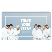 VT X BTS GENTLE FLAVOR JUMBO TOOTHBRUSH KIT (WHITE)