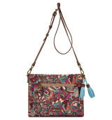 Sakroots Small Crossbody Bag Berry Spirit Desert