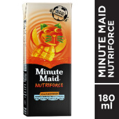 MINUTE MAID Nutriforce Tetra Mango 180ml x 24pcs