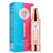 Mengxilan Double Rotary Control Color BB Cream Dual Color Long Lasting 8 Hour Dual Color 60ML