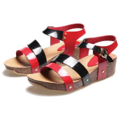 SANDAL HIGH HEELS / WEDGES KASUAL WANITA - BDR 544
