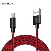 JOYSEUS USB Type C 2.4A Cable 200CM USB Type-C Cable For Xiaomi Huawei Oppo VIVO Samsung A8 Note 8 S8 9 Plus Smart phone