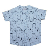 Kim&Kin Animal Face Shirt