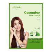 CELEBON CUCUMBER Collagen Essence Mask