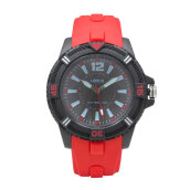 LORUS Jam Tangan - Red Black - Silicon - RRX11FX8