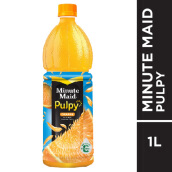 MINUTE MAID Pulpy Orange PET Botol Carton 1000ml x 12pcs