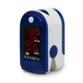 Fingertip Pulse Oximeter SPO2 PR OLED Display Finger Clip Blood Oxygen Meter Blue