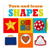 Learning Range : Turn And Learn Shapes Mini Import Book - Make Believe Ideas - 9781783934058