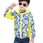 Anamode Kids Winter Coat Duck Down Jacket Children Hooded Feather Coat -Camouflage -OneSize