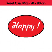 Oval mix- Edition Happy