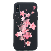 MOONMINI Painting Soft TPU Ultra Slim Fit Anti-Scratch Protective Case for iPhone X