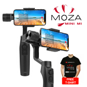 MOZA Mini MI 3-Axis Gimbal Stabilizer For Smartphone - Black