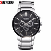 CURREN 8001A Watches Men Luxury Leather Brand Business Watches Casual Watch Quartz Watches relogio masculino
