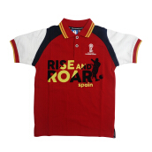 FIFA World Cup FF2002B018B Polo T-Shirt Red