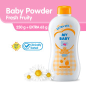 My Baby Powder Fresh Fruity 250gr Extra Fill 25%