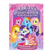 My Little Pony: Raritys Fashion Show: A Panorama Sticker StorybookImport Book - Hasbro My Little Pony 9780794431174