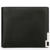 BestieLady D1305 Genuine Leather Pocket Wallet with Box Black