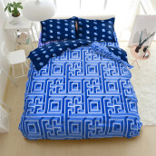 Kintakun Bed Cover D'luxe - 180 x 200 (King) - Maze