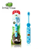 Little Tree Toothbrush 2-4 Years - Blue 18 gr