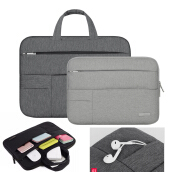 Jantens Men Women Portable Notebook Handbag Air Pro14 inch Laptop Bag/Sleeve Case