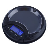 Digital Precision Pocket Scale Ash Tray Style Weighing Scales Black 0.01g x 100g