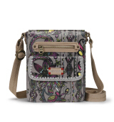 Sakroots Small Flap Messenger Sling Bag Sterling Spirit Desert
