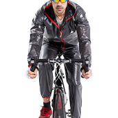 AOSEN Cycling Jersey MultiFunction Jacket Rain Waterproof Windproof TPU Raincoat  Bicycle Equipment Clothes 4 olors