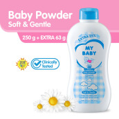 My Baby Powder Soft and Gentle  250g Extra Fill 25%