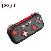 iPega PG-9085 Bluetooth Gamepad Joystick Pad Red Wizard Wireless Game Controller for Android/Nintendo/ Switch/Win Black
