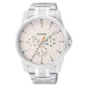 Citizen AG8340-58A Men Beige Dial Stainless Steel Strap [AG8340-58A]