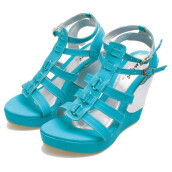 SANDAL HIGH HEELS / WEDGES KASUAL WANITA - BSP 327