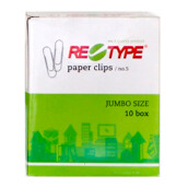 RE-TYPE Paper Clip No. 5 (1 Pack = 10 Box)