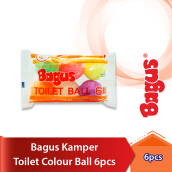 BAGUS Kamper Toilet Colour Ball 6 pcs
