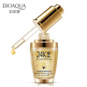 BIOAQUA 24 K Gold Day Cream Hydrating Essence Serum Face Skin Care 30ml