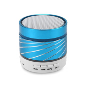 Keymao Wireless Bluetooth Mini Speaker with Hands-free Call TF Card Blue