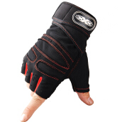 SiYing Men's mechanical tactics imported gloves outdoor sports fitness half finger gloves