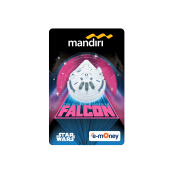 MANDIRI E-Money Star Wars: Han Solo Character - Falcon
