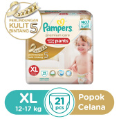 PAMPERS Popok Celana XL-21 Premium Care