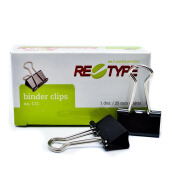 RE-TYPE Binder Clip No. 111