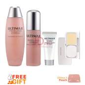 ULTIMA II Crystal Clear Package - 3pcs + Free Gift Pouch