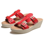 SANDAL HIGH HEELS / WEDGES KASUAL WANITA - BDN 917