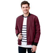 SALT N PEPPER Mens Jacket SNP 003 JK SNP0031804 - Maroon