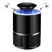 [kingstore] Electronic Mosquito Killer Photocatalyst Light USB Power With Suction Fan Black
