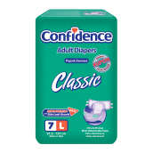CONFIDENCE Adult Diapers Classic [L] 7's