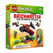 Lego Brickmaster : Ninjago Fight The Power Of Snakes Import Book - DK Publishing - 9780756692551