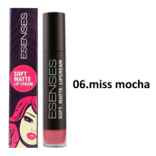 EVANY SENSES Soft Matte Lip Cream - 06 Miss Mocha